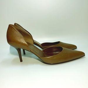 Salvatore Ferragamo Shoes - Ferragamo Heels all leather